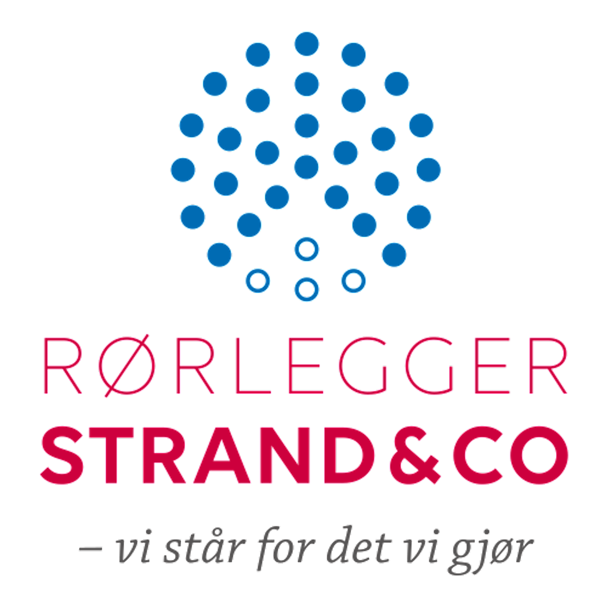 Logo, Rørlegger Strand & Co AS